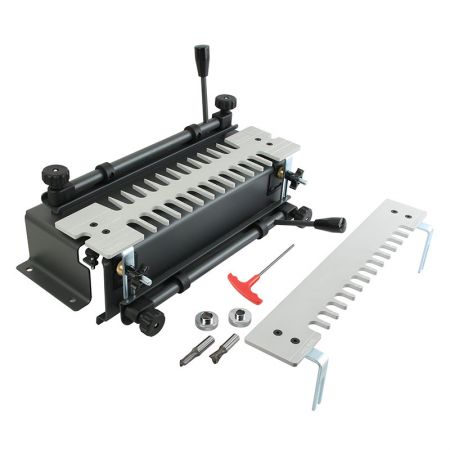 12-inch Dovetail Jig with Anodized Aluminum Template - DJA1 Dovetail Joint Jig