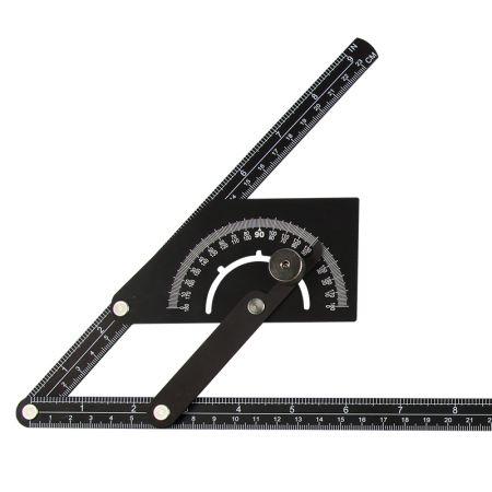 20インチ分度器と角度ファインダーアルミニウム測定ツール - アングルファインダー
