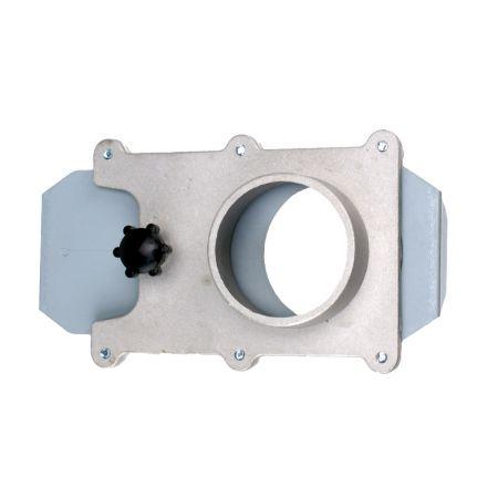 """2-1/2"""" Aluminum Blast Gate for Vacuum / Dust Collector - Aluminum Blast Gate Blast Gate"""