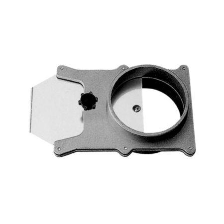 Aluminum Blast Gate For Vacuum / Dust Collector Fittings - Aluminum Blast Gate