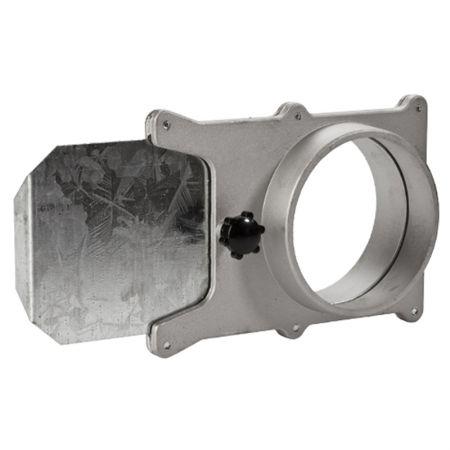 """Adjustable 4"""" Aluminum Self-Cleaning Blast Gate - Adjustable Aluminum Self-Cleaning Blast gate"""