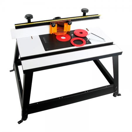 Portable Benchtop Router Table with Fence, Bit Guard and Dust Port - BenchTop Router Table