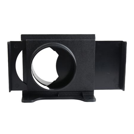"""4"""" Wall Mounted Blast Gate For Dust Collection Systems - Blast Gate Wall Mounting Bracket"""