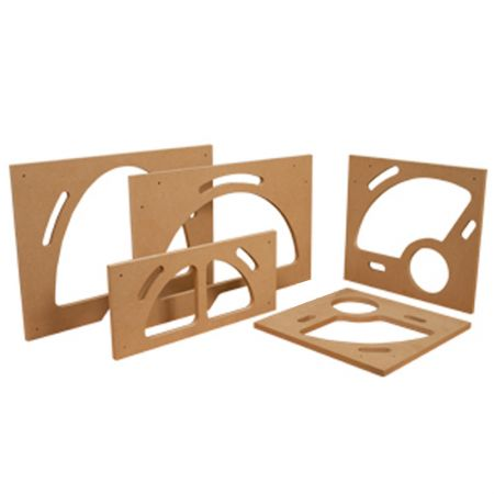 5 Piece Bowl and Tray System MDF Tray Router Template - Bowl and Tray Template