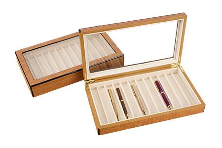 Ferramentas de marcenaria - Expositores e caixas de canetas de madeira
