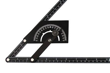 角度ファインダーと分度器 - 木工ツール-測定およびマーキングツール-角度ファインダーおよび分度器