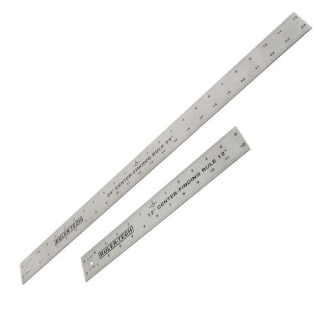 Center finding steel rule - Stainless Steel Center Finding Rule