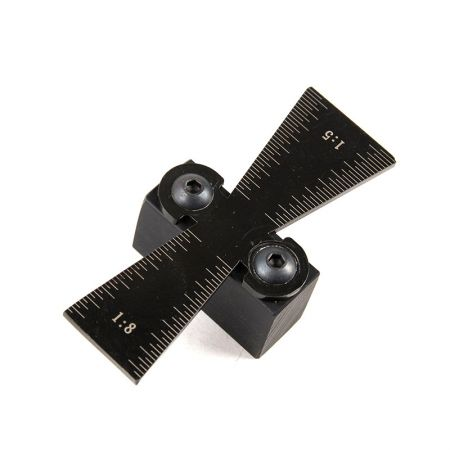 Dovetail Marker Dovetail Jig Guide Featuring 1:5 and 1:8 Slopes - DMR1 Dovetail guide