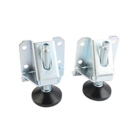 Heavy Duty 600 LB Capacity Lifting Leveler Adjustable Feet - Heavy Duty Lifting Leveler
