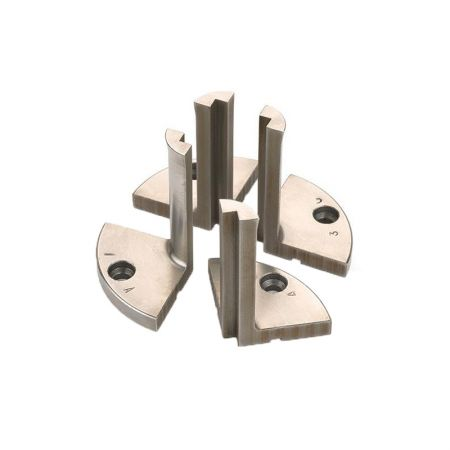 Pen Blank Drilling Jaws for Woodturning Scroll Chuck - Pen Jaws