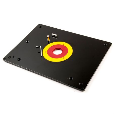 12-inch x 9-inch Universal Phenolic Router Table Insert Base Plate Kit - Phenolic Router Plates