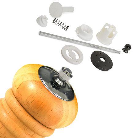 6-inch Salt & Pepper Mill Grinder Combo Woodturning Kit - Salt Shaker and Pepper mill Kits
