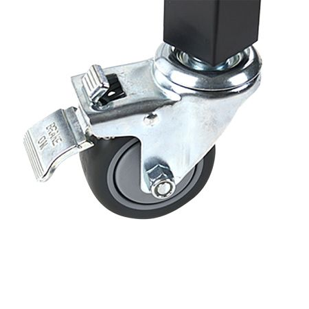 HD Steel Stand Casters Set,double lock - Stand Casters Set