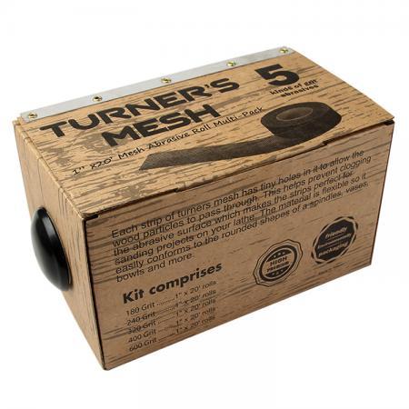 1-inch x 20' Rolls Mesh Sanding Pack - 1-inch x 20' rolls Mesh Sanding Pack