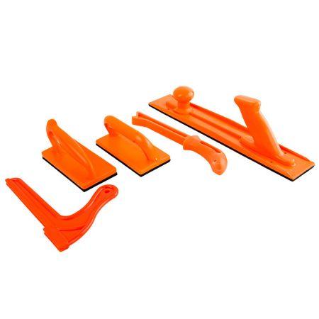 5 PCS Safety Push Block & Stick Kit For Table Saws, Router Tables - Woodworker Safety Push Block and Stick Set