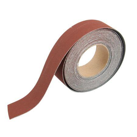 1インチx20フィートの布で裏打ちされたサンドペーパーロール - サンディング研磨ロール