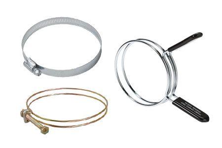 Хомуты и вешалки для шлангов - Деревообрабатывающие инструменты - Принадлежности для сбора пыли - Хомуты и вешалки для шлангов
