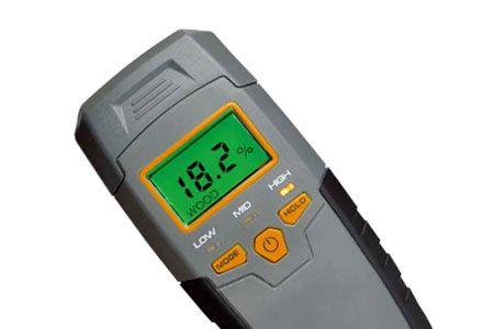 Měřiče vlhkosti a kovové dekodéry - Dřevoobráběcí nástroje - Měřicí a značkovací nástroje - Vlhkoměry a kovové dektektory