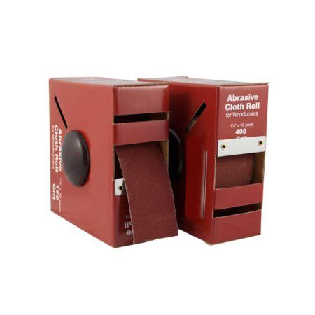 1-1/2-inch x 10 Yard Abrasive Sanding Rolls - Sanding Abrasive Rolls