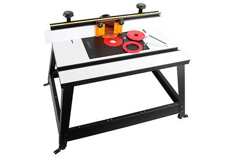 휴대용 벤치탑 라우터 테이블