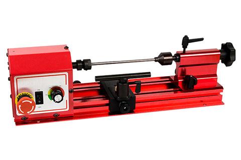 Tragbarer Stift, der Mini-Drehmaschine herstellt