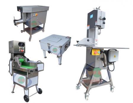 肉切断および加工装置機械 - 食肉加工機