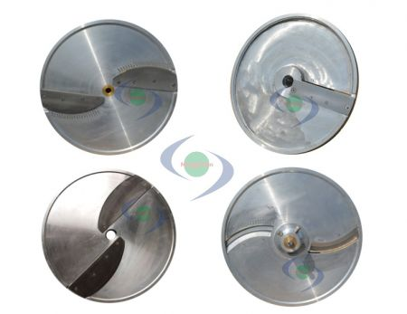 Food Processing Blades - Ming Chun vegetable meat processing machine's cutters, blades, knife sets.