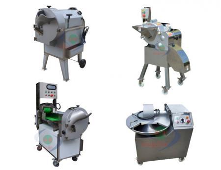 Macchina per attrezzature per la lavorazione di frutta e verdura - Macchina per la lavorazione delle verdure