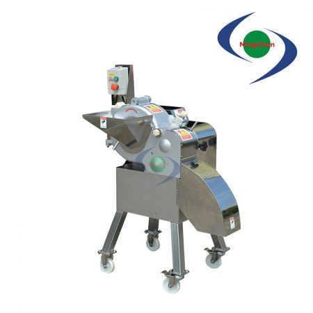 High Speed Vegetable Fruit Dicing Machine AC 220V 380V 1HP - High-speed dicer machine can be widely used as a stand-alone machine.