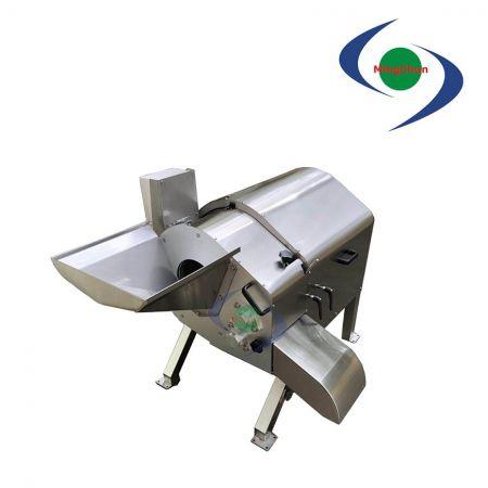 Mesin Pemotong Bawang Ekstra Besar Kecepatan Tinggi AC 220V 380V 2HP - Cocok untuk potong dadu massal, ukuran produk jadi identik.
