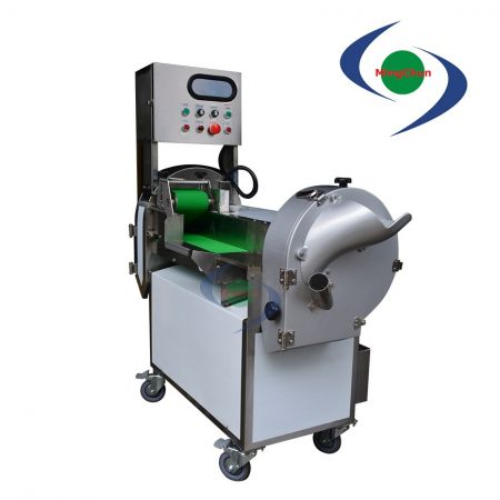 Vegetable Fruit Cutting Machine AC 220V 1HP 1/2HP 1/4HP - Can process the leafy and rooting vegetables into sliced, shredded, diced.