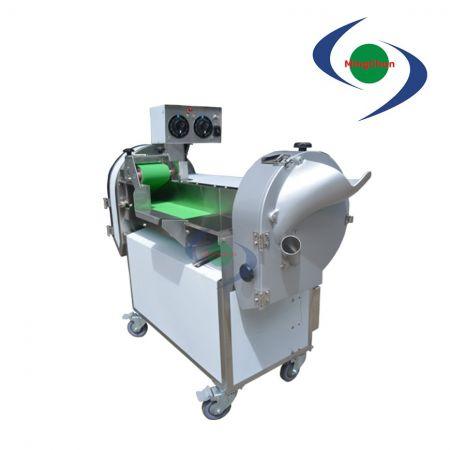 Sebze Dilimleme Dicer Kesici Makinesi DC 110V 220V 1HP 1.5HP 1.5HP - Yapraklı ve kök salmış sebzeleri işleyin, dilimleyin, rendeleyin, küp küp doğrayın.