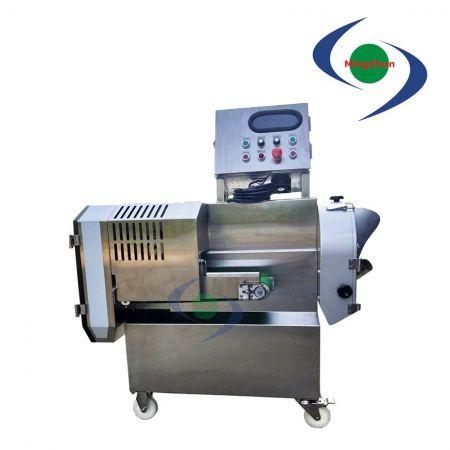 Máquina Cortadora Removível de Frutas Vegetais AC 220V 1 / 3HP 1HP 2HP - Pode processar os ingredientes em fatias, ralados, cubos (quadrados).