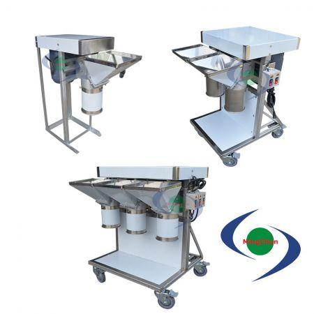 Frantoio Alimentare DC 110V 220V 1HP 1/2HP - Il piccolo tritaverdure può tritare molti tipi di cibo a pezzi e fango.