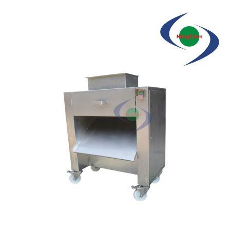 Tagliatrice di carne di pollame DC 220V 380V 2HP - La cubettatrice per pollame è adatta per pollame con cartilagine, tagliato e affettato.