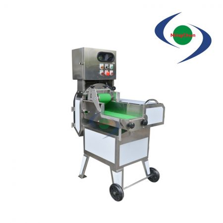 Cooked Meat Cutting Slicing Machine AC 220V 2HP - Cooked meat cutting machine, thickness can be adjusted to controlling the speed of belt conveyor and the blade.