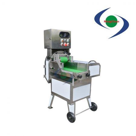 Affettatrice per carne cotta AC 220V 2HP - Tagliacarne cotta, lo spessore può essere regolato per controllare la velocità del nastro trasportatore e della lama.