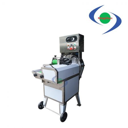 Leafy Vegetable Cutting Chopping Machine AC 220V 1/2HP 1/4HP - The machine can cut ingredients into cubes, pieces and strips.