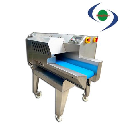 Large AC Discharged Removable Multifunctional Vegetable Cutting Machine - Can process the ingredients into sliced, shredded, diced (square).