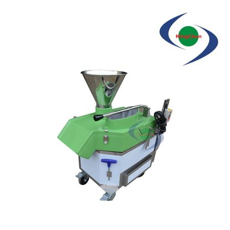 ДК 220В 380В 1ХП автомата для резки овощей фруктов горизонтальный нарезая - Горизонтальная нарезка / нарезка может нарезать ингредиенты кубиками.
