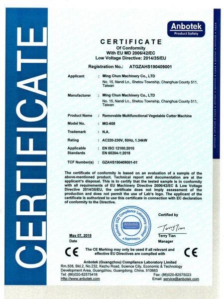 MG-608 CE-Mesin Pemotong Sayur Multifungsi.