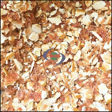 金吉切细粉颗粒,细切机加工完后,果实一样看起来鲜美。