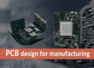PCB design for manufacturing