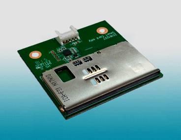 Smart card reader module