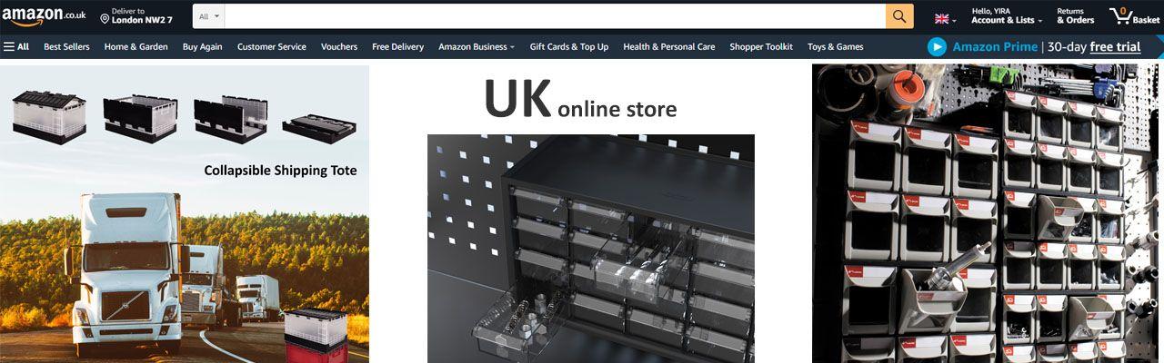 SHUTER의 Amazon UK 스토어
