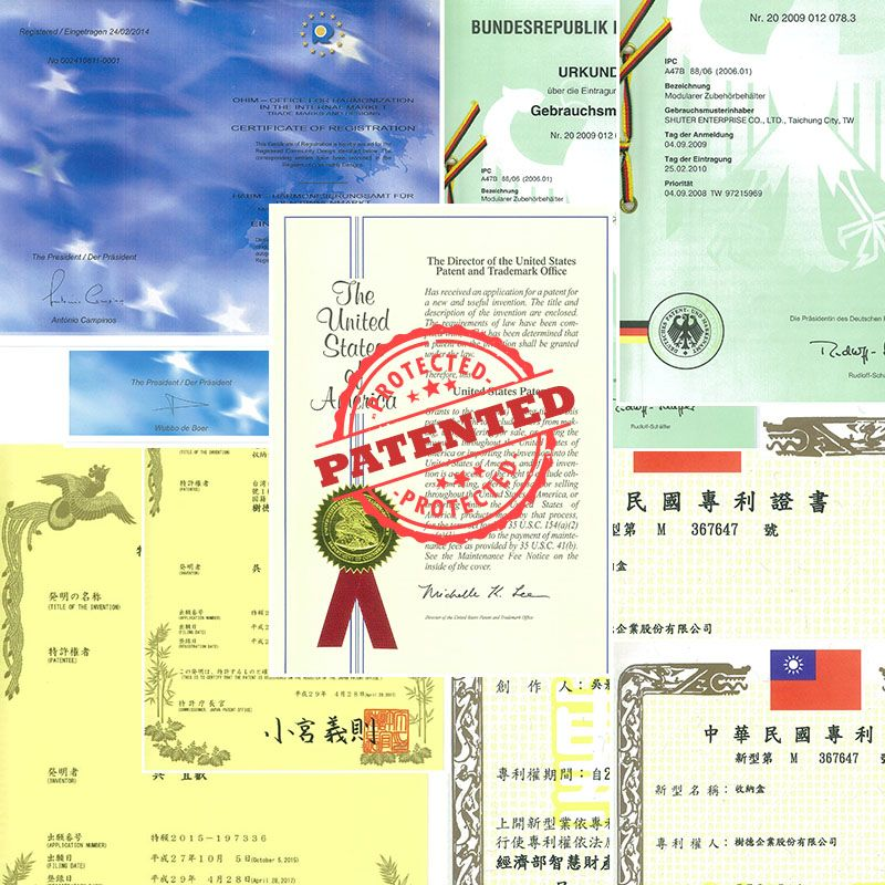 Patents of SHUTER