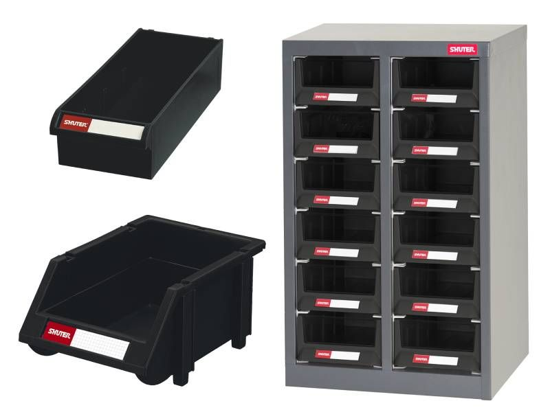 ESD protection organizer, Antistatic pegboard bin