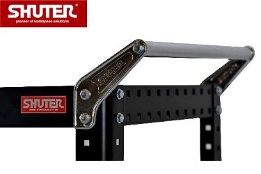 Intergrated steel handle