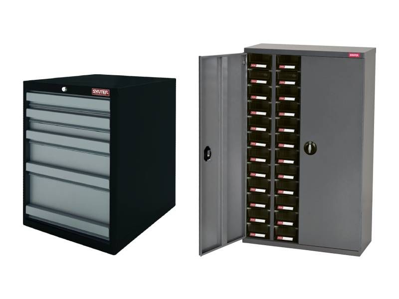 Steel storage cabinet with drawers, Drawer cabinet for organizer and storage