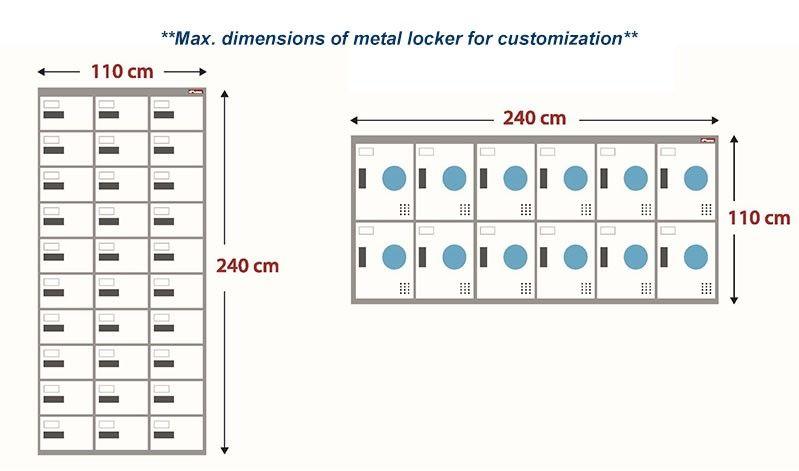 Customized metal cabinet